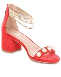Romeo Gigli - Red Suede Sandals - Lyst