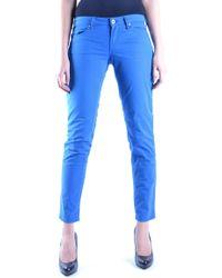 Fiorucci Blue Cotton Pants