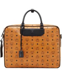 MCM | Travel Collection Briefcase | Lyst