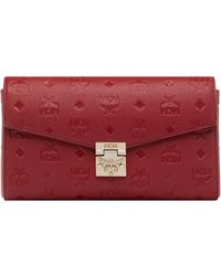 MCM - Millie Flap Crossbody In Monogram Leather - Lyst