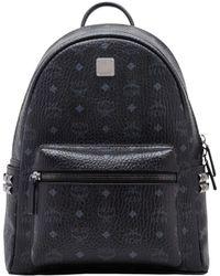 MCM - Stark Side Studs Backpack In Visetos - Lyst