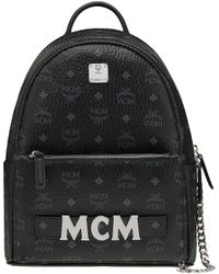 MCM - Trilogie Leather Backpack - Lyst