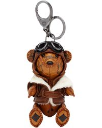 MCM - Aviator Bear Animal Charm - Lyst