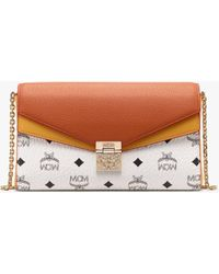 8770c2227 MCM - Millie Crossbody In Colour Block Leather - Lyst