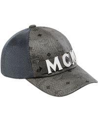 7dbc7a21ea9 Lyst - MCM Visetos Logo Baseball Cap in Black for Men