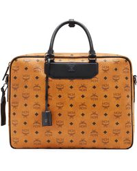 MCM - Travel Collection Briefcase - Lyst