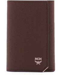 MCM - New Bric Key Wallet - Lyst