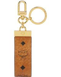 MCM - Key Ring In Visetos Original - Lyst