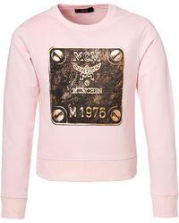 MCM - Brass Plate Sweatshirt - Lyst