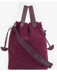 meli melo - Hazel | Tote Bag | Jupiter Burgundy - Lyst