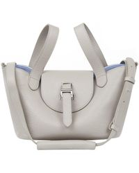 meli melo - Thela Mini | Cross Body Bag | Taupe And Lavender - Lyst