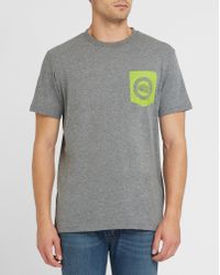 grey north face t shirt