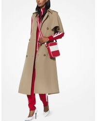 Michael Kors - Wool-gabardine Cape Trench - Lyst