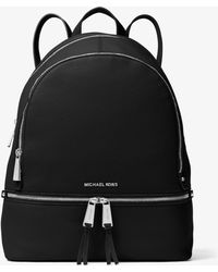 Michael Kors - Rhea Large Leather Backpack - Lyst