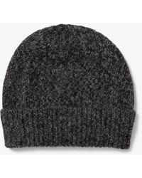 Logo Cotton Baseball Hat.  40. Michael Kors · Michael Kors - Cashmere  Beanie - Lyst a900020adb58