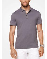 Michael Kors - Cotton Polo Shirt - Lyst