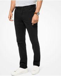 Michael Kors - Pantalone slim-fit Parker in twill stretch - Lyst