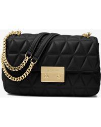 Michael Kors - Sloan Large Quilted-leather Shoulder Bag - Lyst