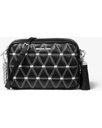 9becbec7ed12 MICHAEL Michael Kors - Ginny Medium Quilted Leather Crossbody Bag - Lyst