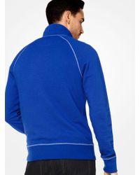 Michael Kors - Cotton-blend Quarter-zip Pullover - Lyst