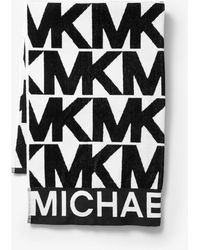 Michael Kors - Toalla De Algodón Con Logotipo - Lyst
