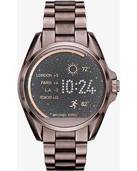 Michael Kors - Access Bradshaw Sable-Tone Smartwatch - Lyst