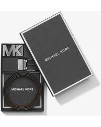 Michael Kors - 4-in-1 Logo Belt Set - Lyst