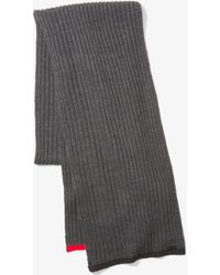 Michael Kors - Ribbed Knit Scarf - Lyst