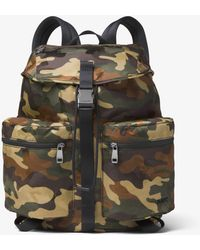 Michael Kors - Kent Camouflage Nylon Backpack - Lyst