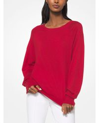 Michael Kors - Tropical Cashmere Pullover - Lyst