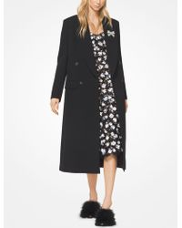 Michael Kors - Bonded Wool And Cotton Gabardine Chesterfield Coat - Lyst