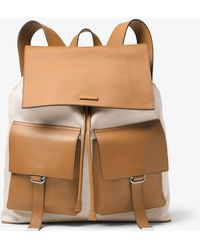 Michael Kors - Billy Canvas Backpack - Lyst