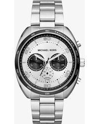 Michael Kors - Dane Silver-tone Watch - Lyst