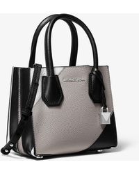 7e0f3b11a41 Michael Kors Whitney Large Quilted Tri-color Leather Convertible Shoulder  Bag - Lyst