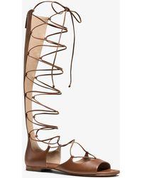 7a8ef79eb099 Lyst - Women s Michael Kors Sandal boots Online Sale