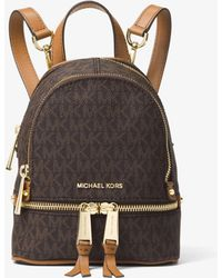 MICHAEL Michael Kors Rhea Mini Logo Backpack