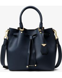 Michael Kors - Blakely Leather Bucket Bag - Lyst