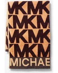 Michael Kors - Logo Cotton Towel - Lyst