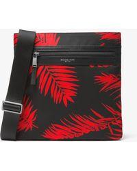 Michael Kors - Kent Medium Palm Nylon Crossbody - Lyst