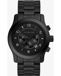 Michael Kors - Runway Black Watch - Lyst