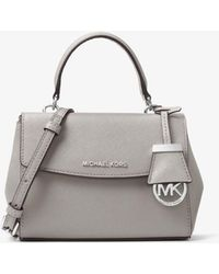 60c4bcc72eda4d Michael Kors - Tracolla Ava Extra-Small In Pelle Saffiano - Lyst