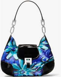 Michael Kors - Bancroft Medium Daisy Calf Leather Shoulder Bag - Lyst