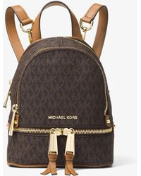 b8082671e134 Lyst - Women s MICHAEL Michael Kors Backpacks