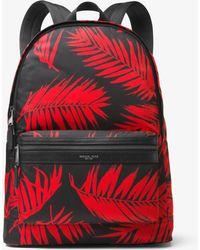 Michael Kors - Kent Palm Nylon Backpack - Lyst