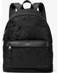 ffe3e2846ae9 Michael Kors Kent Nylon Cargo Backpack in Black for Men - Lyst