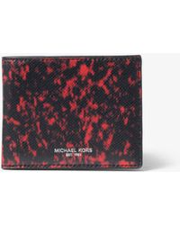 Michael Kors - Kent Volcanic-print Billfold Wallet - Lyst