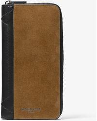 f0f33899d475 Lyst - Michael Kors Taurus Leather Billfold Wallet in Blue for Men