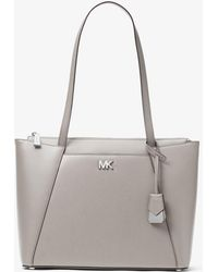 Michael Kors Maddie hammered leather tote skS7OCZP