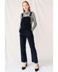 c1cb405ce6a Mih Jeans Tribe Dungarees in Blue - Lyst