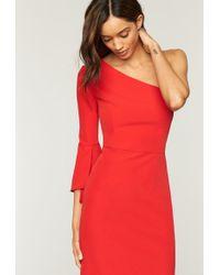 MILLY - Italian Cady Sandrine Dress - Lyst